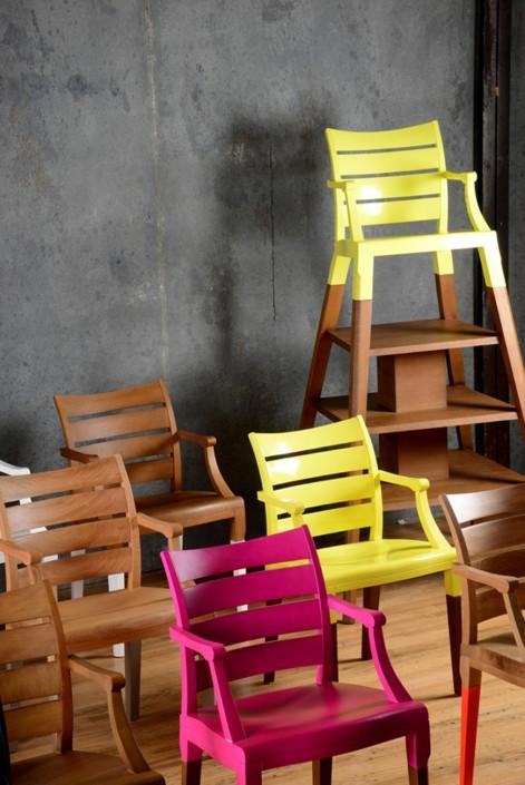 num ro 1 chaise bibliotheque bicolore. Black Bedroom Furniture Sets. Home Design Ideas